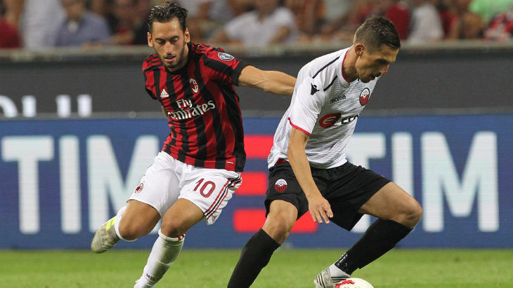 «Милан» — «Шкендия»