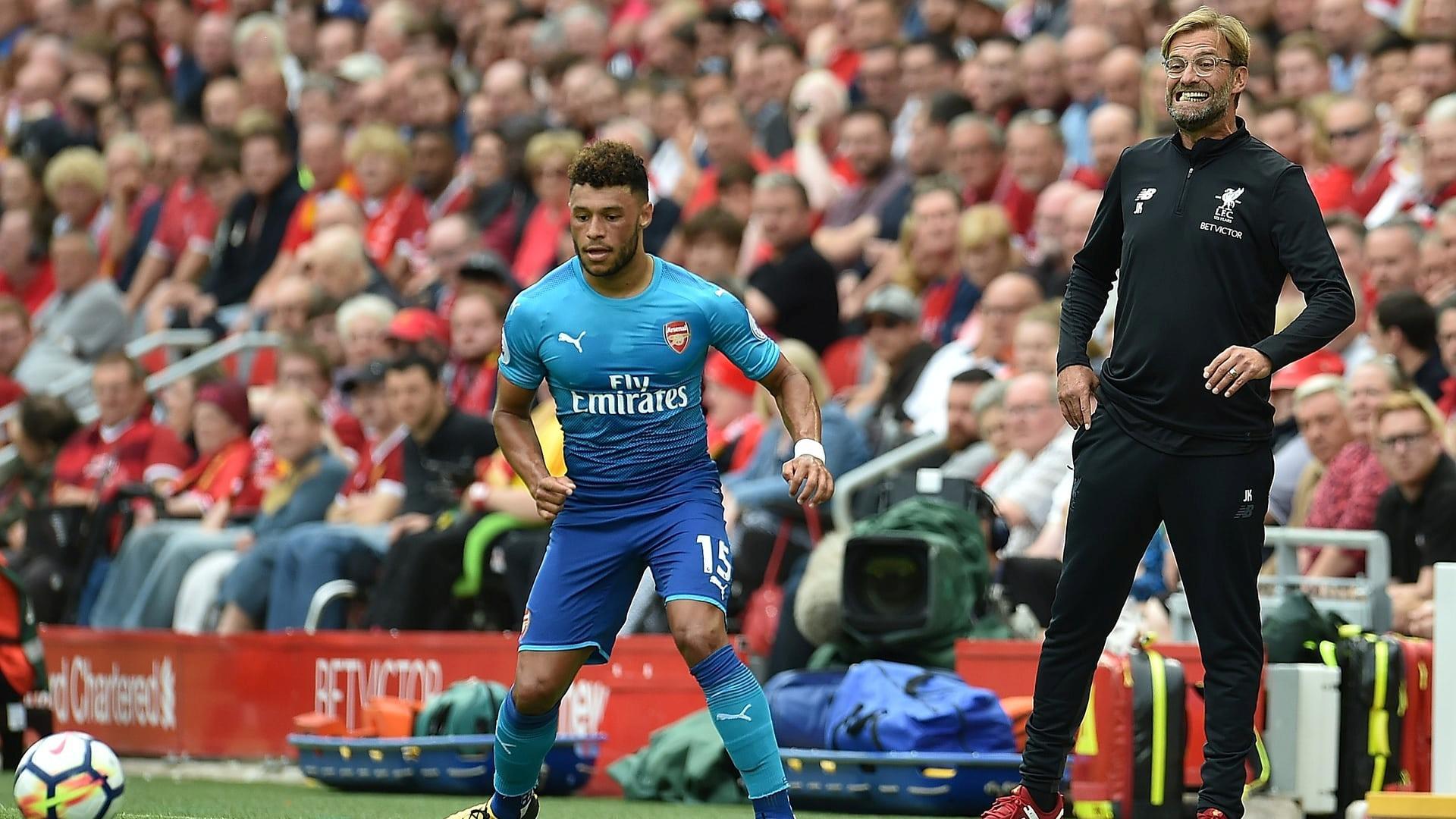 Алекс Окслейд-Чемберлен 27 августа сыграл за «Арсенал», а уже 31 августа перешел в «Ливерпуль»