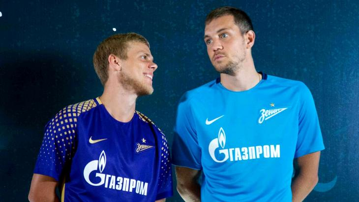 Александр Кокорин и Артем Дзюба