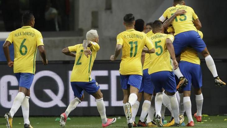 Бразилия впечатляет своими выступлениями
