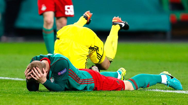 «Локомотив» потерпел домашнее поражение в ЛЕ