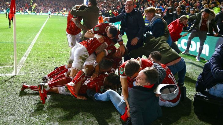 Радость «Бристоль Сити» и его болельщиков