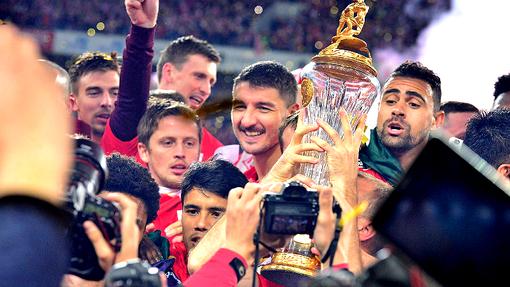 «Спартак» празднует чемпионство