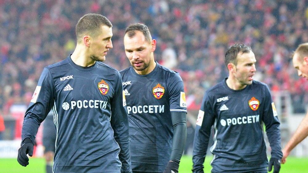 Футболисты ЦСКА поздравили болельщиков с Новым годом