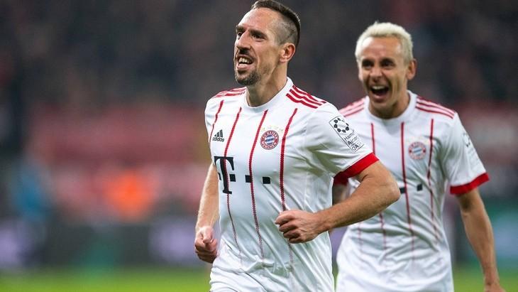 Рибери забил свой первый мяч в Бундеслиге этого сезона