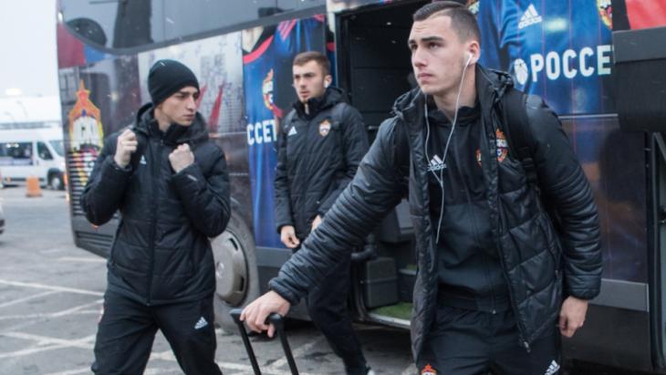 ЦСКА отправился на второй сбор