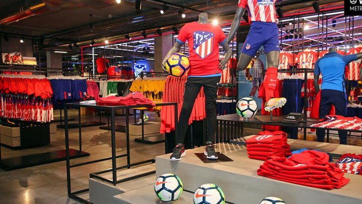 Клубный магазин «Атлетико» ограбили перед игрой с «Локомотивом»