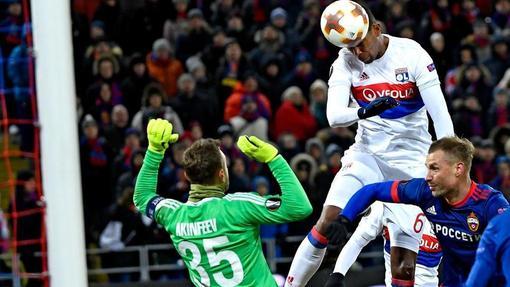 «Лион» победил в Москве