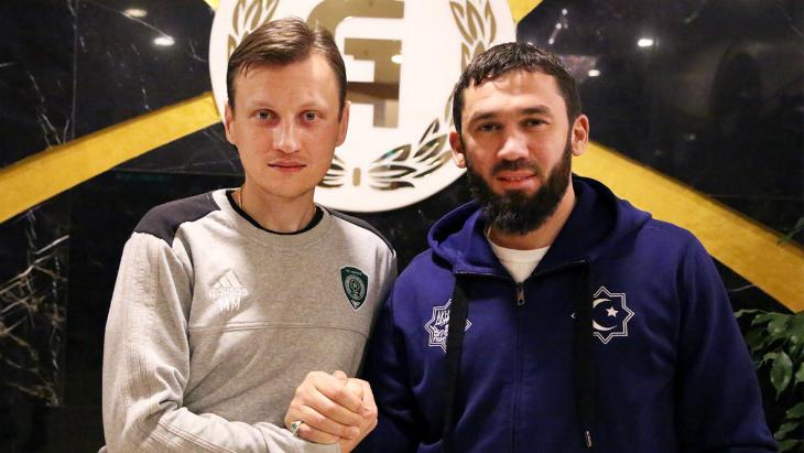 Михаил Галактионов и Магомед Даудов