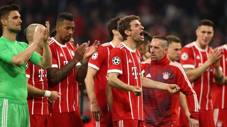 «Бавария» вышла в четвертый полуфинал ЛЧ за пять лет