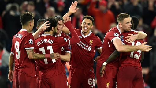 «Ливерпуль» провел мастер-класс для «Ромы»
