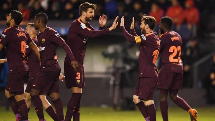«Барселона» выиграла седьмой титул за 10 лет