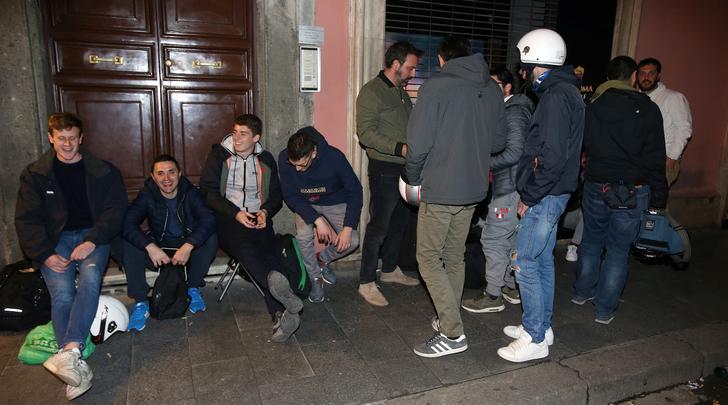 Неизвестные в Риме напали на фанатов «Ливерпуля»