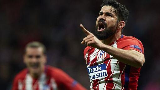 Диего Коста помог «Атлетико» выйти в финал Лиги Европы