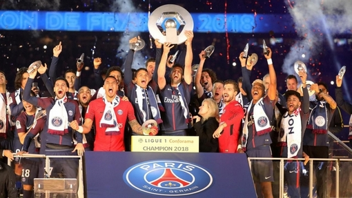 «Пари Сен-Жермен» празднует чемпионство