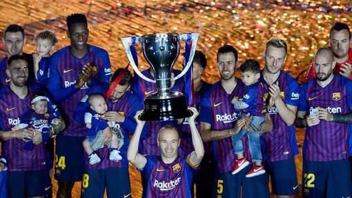 «Барселона» стала чемпионом еще в первом круге