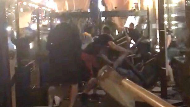 Киевская полиция арестовала двух нападавших