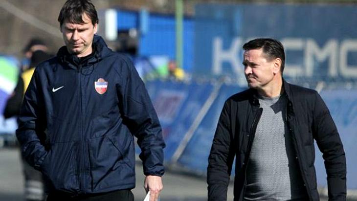 Егор Титов и Дмитрий Аленичев