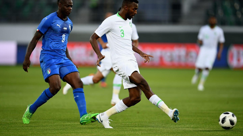 Аравийцы уступили Италии со счетом 1:2
