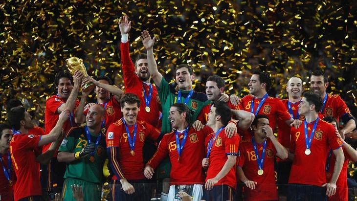 Сборная Испании — чемпион мира 2010