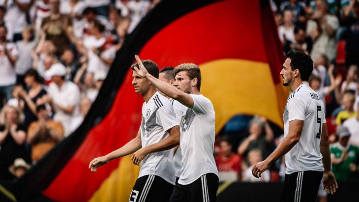 Германия победила впервые за шесть матчей