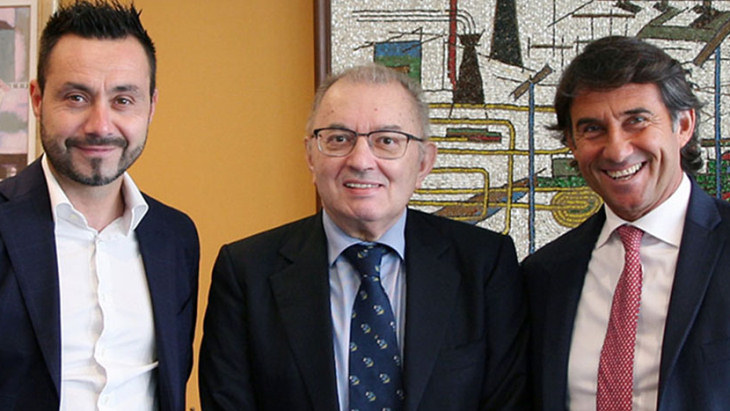 Роберто Де Дзерби (слева)