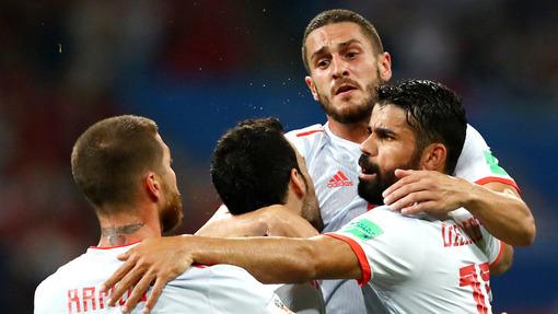 Сборная Испании не удержала победу