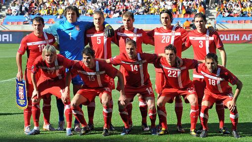 Сборная Сербии на ЧМ-2010 в Южной Африке