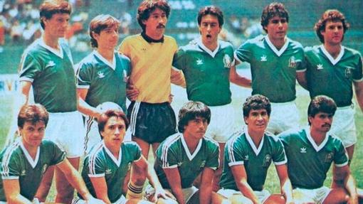 Сборная Мексики на домашнем ЧМ-1986