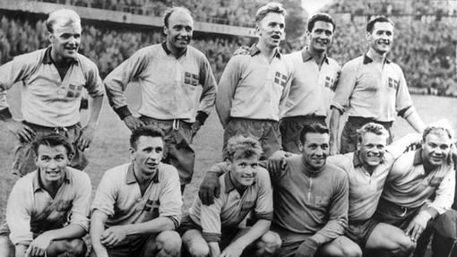 Сборная Швеции на домашнем ЧМ-1958