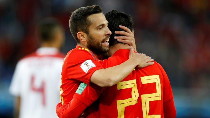 Испанцы владеют преимуществом