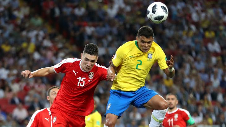 Сербия — Бразилия