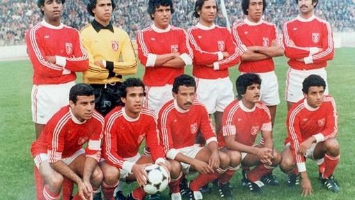 Сборная Туниса на самом успешном для себя ЧМ-1978 в Аргентине
