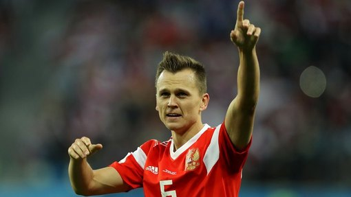 Денис Черышев забил три важных мяча для сборной России