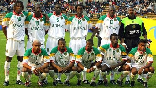 Сенегал на первом в истории чемпионате мира 2002 года
