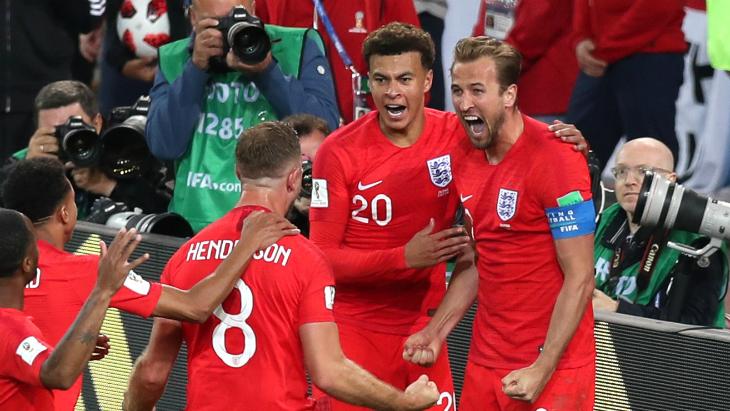 Англия — Колумбия