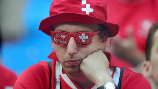Болельщики Швейцарии не зажигали