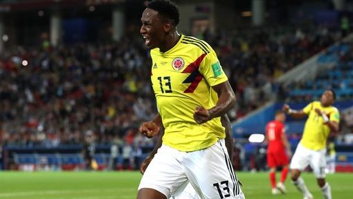 Йерри Мина забил три важных гола для Колумбии на ЧМ-2018