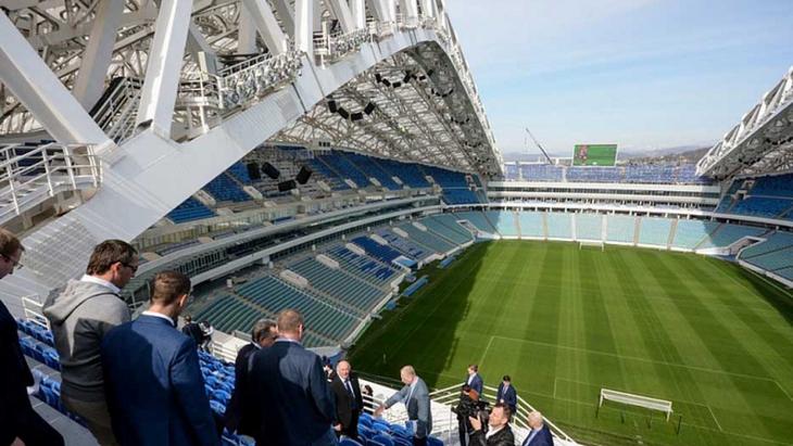 На стадионе «Фишт» должен сыграть ФК «Сочи»