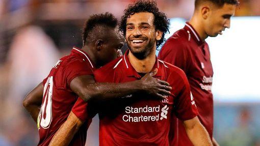 Мохамед Салах сравнял счет в матче