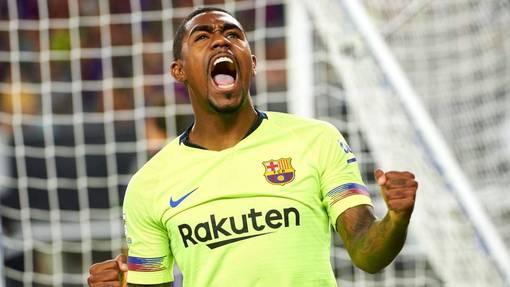 Малком забил мяч в дебютном матче за «Барселону»
