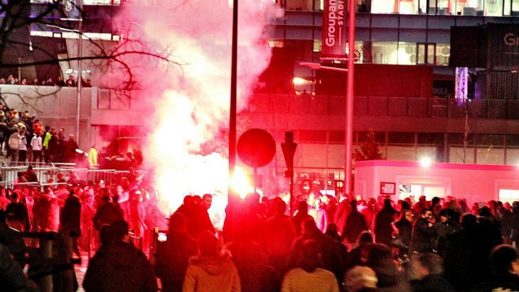 Беспорядки с участием болельщиков «Лиона»