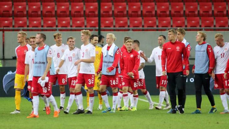 Дания играла против Словакии в уникальном составе
