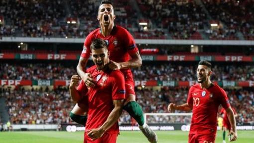 Португалия справилась с Италией без Роналду