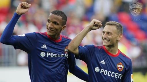 ЦСКА удалось забить трижды