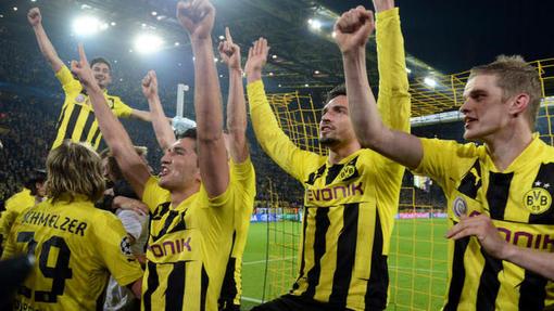 Футболисты «Боруссии»