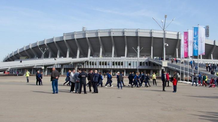 Стадион в Красноярске
