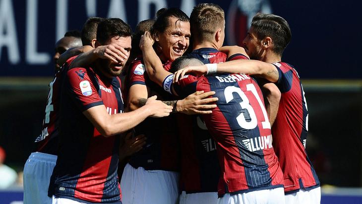 Футболисты «Болоньи»