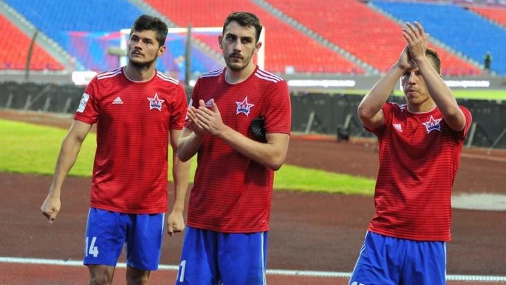 Футболисты «СКА-Хабаровска»