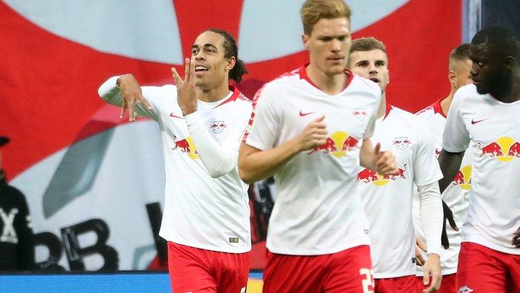 Футболисты «Лейпцига»